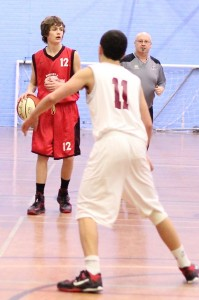 Dorset Storm Basketball Club National League Under 16s versus Cardiff 23rd November 201308