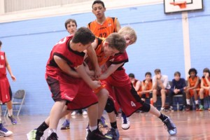 Dorset Storm Basketball Club SWRL Under 14s versus Torbay and Plymouth December 2013