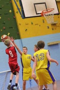 Dorset Storm Basketball Club SWRL Under 14s versus Torbay and Bristol January 2014 1