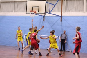 Dorset Storm Basketball Club SWRL Under 14s versus Torbay and Bristol January 2014 2