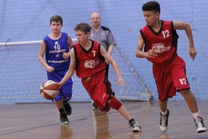 Dorset Storm Basketball Club SWRL Under 14s versus Torbay and Bristol January 2014 3