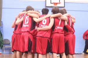 Dorset Storm Basketball Club National League Under 18s versus Cardiff2