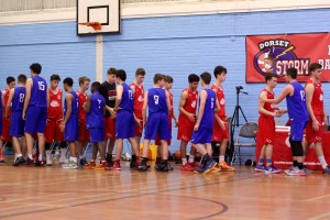 Dorset Storm Basketball Club  National League Under 16s versus Bristol II November 2015 - 5