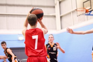 Dorset Storm Basketball Club National League Under 16s versus Somerset January 2016 1 - 1