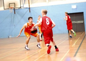 Dorset Storm Basketball Club National League Under 16s versus Vale February 2016 - 1