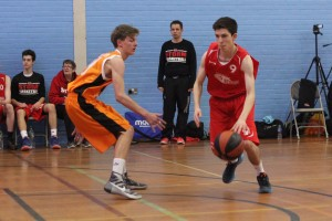 Dorset Storm Basketball Club National League Under 16s versus Dorchetser March 2016 - 1