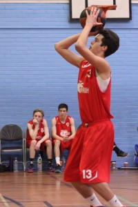 Dorset Storm Basketball Club National League Under 16s versus Dorchetser March 2016 - 4