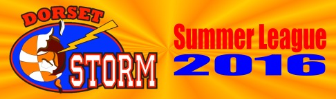 Dorset Storm Basketball Club Summer League 2016 Banner