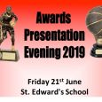 Full list of individual award winner from the 2019 presentation evening